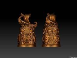 Bronze souvenirs. Statuettes, thimbles, trinkets, keychains. - фото 7