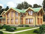 Ecological clean house from Arkhangelsk pine 300-600 sq. m - photo 8