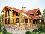 Ecological clean house from Arkhangelsk pine 300-600 sq. m - photo 7