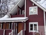 Дома из бруса профилированного и оцилиндрованного бревна. Строительство и проектирование - фото 4
