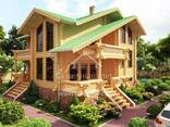 Ecological clean house from Arkhangelsk pine 300-600 sq. m - photo 6