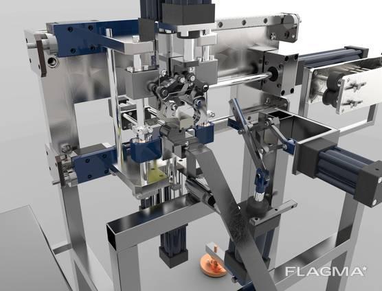 Pneumatics, electroautomatics, for individual production
