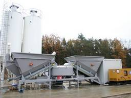 Мобильный бетонный завод Sumab F-2200 (60-80 м3/час) Швеция