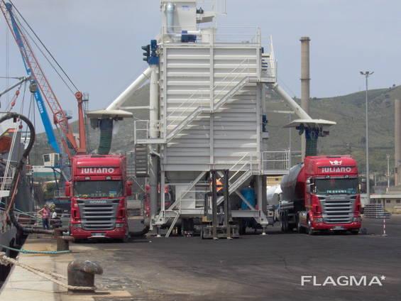 Б/У перегрузка цемента портовая 700 т/ч